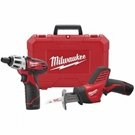 Image Milwaukee MLW2490-22  M12 12V 2 Tool Combo Kit