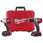 Image Milwaukee MLW2691-22  M18 18V 2 Tool Compact Combo Kit