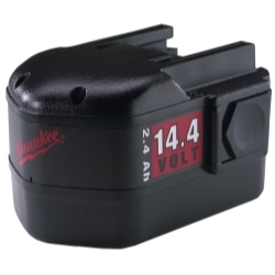 Milwaukee Electric Tools 48-11-1024 BATTERY 14.4V 2.4AMP HR image