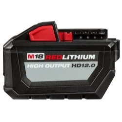 Milwaukee Electric Tools 48-11-1812 M18 Redlithium High Output Hd12.0 Battery Pa image