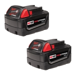 Milwaukee Electric Tools 48-11-1822 M18 REDLITHIUM XC Battery 2 Pack image