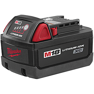 Milwaukee Electric Tool MLW48-11-1828 M18 Hi-Capacity Lithium-Ion Battery Pack image