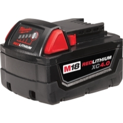 Milwaukee Electric Tools 48-11-1840 M18 REDLITHIUM XC4.0  BATTERY PACK image