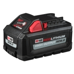 Milwaukee Electric Tools 48-11-1865 M18 Redlithium High Output Xc6.0 Battery Pac image