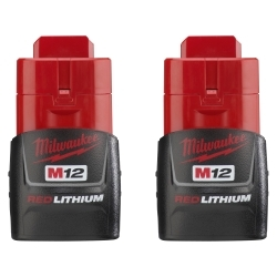 Milwaukee Electric Tools 48-11-2411 M12 REDLITHIUM Compact Battery 2 Pack image