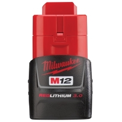 Milwaukee Electric Tools 48-11-2430 M12 3.0 Compact Battery Pack image