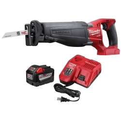 Milwaukee Electric Tools 48-59-1890PS M18 FUEL Sawzall w/ 9.0 Battery Starter Ki image