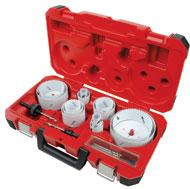 Milwaukee 19 Pc Master Electricians Ice Hardened Hole Saw Kit MLW49-22-4105 image