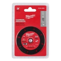 Milwaukee Electric Tools 49-94-3005 Milwaukee 3 in. Carbide Abrasive Cut Off Bla image