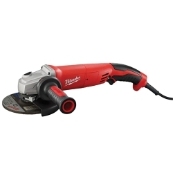 """Milwaukee Electric Tools 6124-30 13 Amp 5"""" Small Angle Grinder Trigger Grip image"""