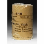Image 3M 01441 GOLD DISC ROLLS STIKIT P120G 6IN 125/ROLL