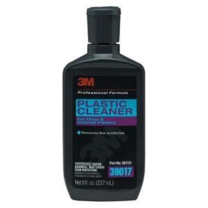 3M 39017 Plastic Cleaner 8.0 oz Bottle image