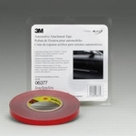 Image 3M 06377 Double Side Adhesive Tape, Gray, 1/2