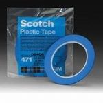 Image 3M 06404 Plastic Tape 471, Blue, 1/8