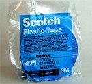 Image 3M 06405 Plastic Tape 471, Blue, 1/4