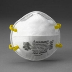 Image 3M 07048 Dust Mask Respirator Particulate N95 20 Pack