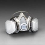 Image 3M 07191 Dual Cartridge Respirator Assembly, Organic Vapor/P95, Small