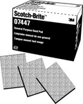 Image 3M 07447 Maroon Scotch Brite Pad 20 pack