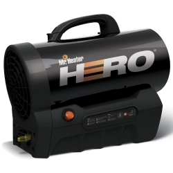 Mr. Heater, Inc. F227900 MH35CLP-Hero Cordless Forced Air Propane 35,000BT image