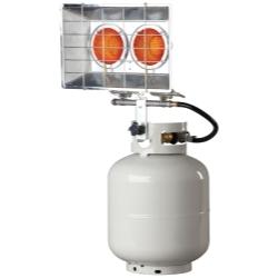 Mr. Heater, Inc. F242650 Tank Top Heater, Twin, 8,000 - 30,000 BTU image