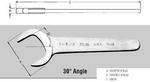 Image Martin Tools 1234 WRE 1-1/16 SERVICE 30D ANGLE CHROME