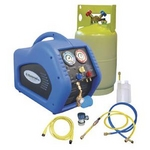 Image Mastercool 69100 30lb. Complete A/C Recovery System