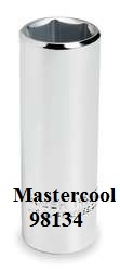 Mastercool 98134 R-134A Low Side Octagon Service Socket image