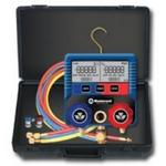 Image Mastercool 99860-A Digital Manifold Kit w/Refrigerant and Oil Capacities
