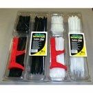 Image Mountain MTN87401B CABLE TIE SPECIALTY PACK W/TENSION TOOL - BLACK