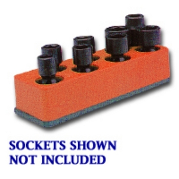 Mechanics Time Saver 881 SOC HOL 3/8U IMP RED 8 HOLE image