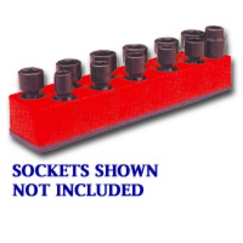 Mechanics Time Saver 981 SOC HOL 3/8U IMP RED image