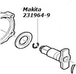 Image Makita 2319649 RETAINING RING FOR 6907