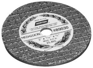 Norton NOR89030 Refinishing Medallion Cut-Off Wheels - 3