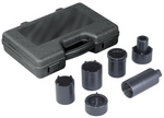 Image OTC 4543A 4-WD Spindle Nut Sockets 6 Pc. Set