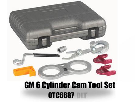 OTC 6687 GM 6 Cylinder Cam Tool Set Alt 42069 image