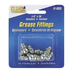 Plews 11-955 GREASE FITTING ASSTMNT SAE 8 FITTINGS ON CARD image