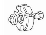 Image Rotunda Tools 303-009 Crankshaft Vibration Damper Remover