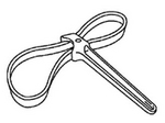 Image Rotunda 303-D055 Strap Wrench