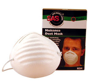SAS Safety Corp SAS2985 Non-Toxic Dust Mask - 50 Pack image