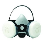 Image SAS Safety 3761-50 LOW MAINT. HALF MASK RESP. CLAMSHELL LARGE