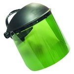 Image SAS Safety 5142 Standard Face Shield Dark Green