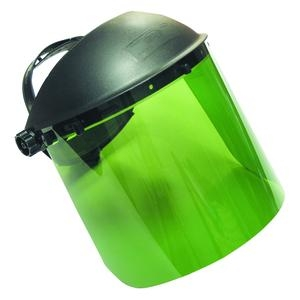 SAS Safety 5142 Standard Face Shield Dark Green image