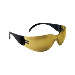 SAS Safety 5344 SAFETY GLASSES GOLD MIRROR image