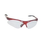 Image SAS Safety 540-0000 DIAMONDBACK SAFETY GLS RED FRAME/CLR LENS