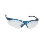 Image SAS Safety 540-0300 DIAMONDBACK SAFETY GLS BLUE FRAME/CLR LENS