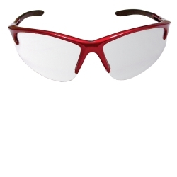 SAS Safety 540-0400 DB2 SAFETY GLS RED W/ CLEAR LENS image