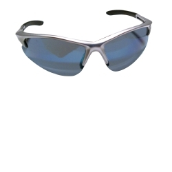 SAS Safety 540-0509 DB2 SAFETY GLS SILVER W/ICE BLUE LENS image