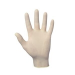 Image SAS Safety Corp SAS650-1002 Dyna Grip 8 Mil Latex Gloves - Medium; 100 Count