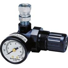 Sharpe Manufacturing 1410 REGULATOR AIR 22CFM MINI GAUGE 0-160PSI image
