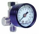 Image Sharpe Manufacturing 3310 REGULATOR AIR HVLP W/GAUGE 0-160PSI